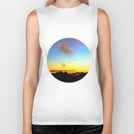Landscapes - Sunset Biker Tank