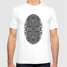 You may say I´m a dreamer MEDIUM Mens Fitted Tee White