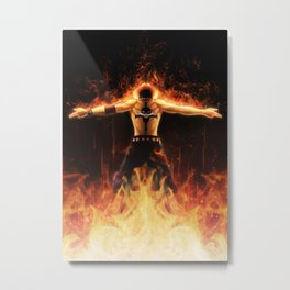 Fire Ace Metal Print