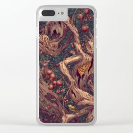 Tree People Clear iPhone Case