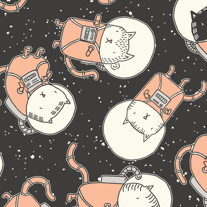 Cat-Stronauts Leggings