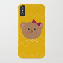 Dressy Bear iPhone Case