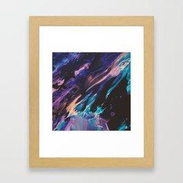 Coral Reef Lagune Framed Art Print