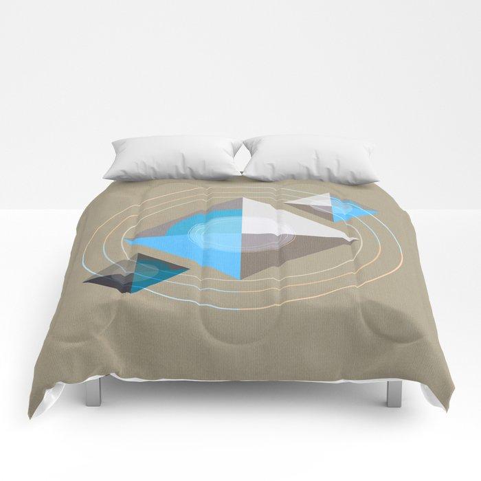 Minimalism / Geometric 4 Comforters