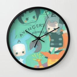 Avengers Assemble. Wall Clock