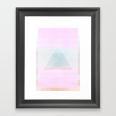 Triangle Heaven Framed Art Print