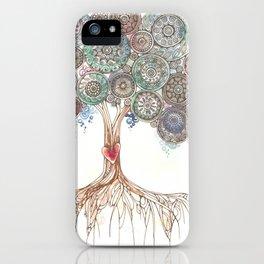 Broken Tree iPhone Case