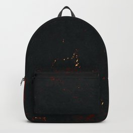 Vulcanic Fire Marble Backpack