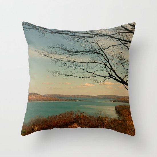 Splendid Autumn Throw Pillow