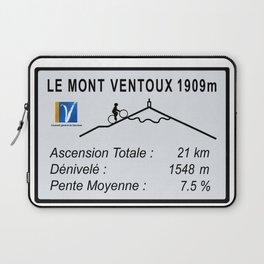 Mont Ventoux Sign Laptop Sleeve