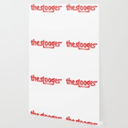 The Stooges distressed (red) Wallpaper