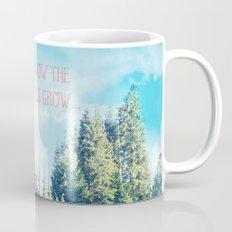 Consider How the Wildflowers Grow Coffee Mug