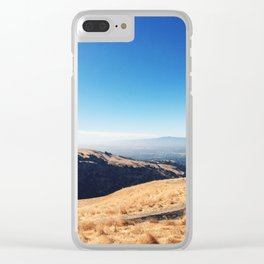 Golden Hills Clear iPhone Case