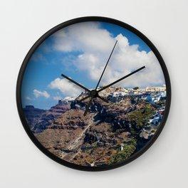 Santorini Wall Clock