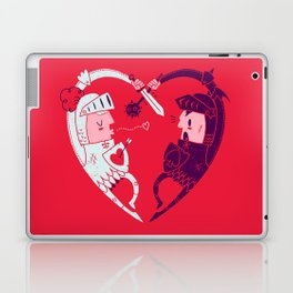 All Is Fair In Love And War Laptop & iPad Skin