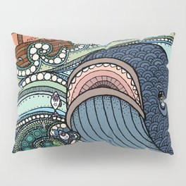 'Jonah and the Whale' Pillow Sham