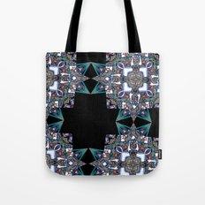 Internal Kaleidoscopic Daze-15 Tote Bag