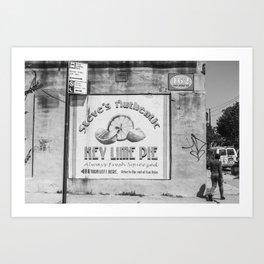 Red Hook Corners Art Print