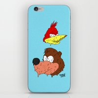 banjo iPhone & iPod Skins featuring Banjo by Nate Galbraith