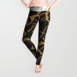 Gold chain Leggings