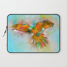 High as a Macaw Laptop Sleeve