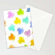 The seasons go by Stationery Cards