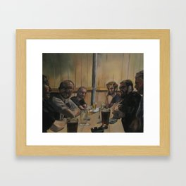 Theologians Framed Art Print
