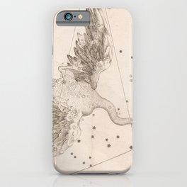 Johann Bayer - Uranometria / Measuring the Heavens (1661) - 09 Cygnus / The Swan iPhone Case