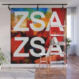 Zsa Zsa (for Craig) Wall Mural