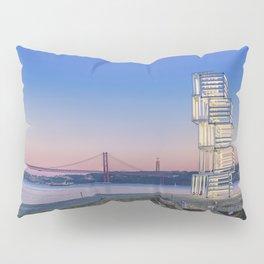 Central Tejo, Lisbon, Portugal (Color) Pillow Sham