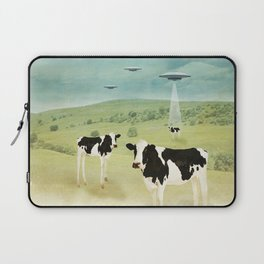 we all like burgers _ US AND THEM  Laptop Sleeve