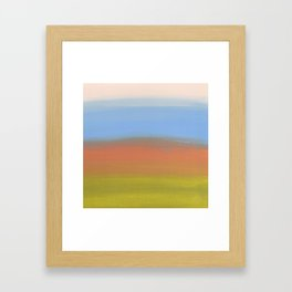 Abstracted Landscape Framed Art Print