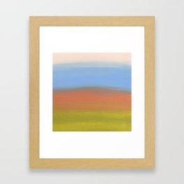 Abstracted Landscape Framed Art Print