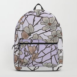 pattern of branches in pastel colors 2 (https://society6.com/totalflora/collection ) Backpack