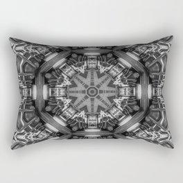 Eight Aisles of Seating Rectangular Pillow