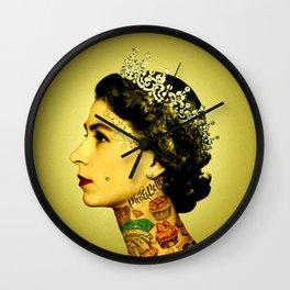 Royal Tattoo Wall Clock
