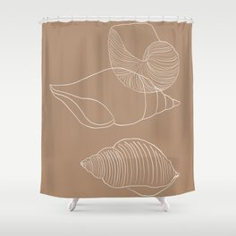 Seashells #1 Shower Curtain