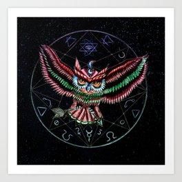 SouthPaw Science Album Cover Art Print