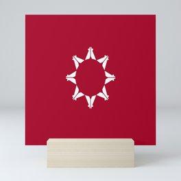 flag of Lakota Mini Art Print