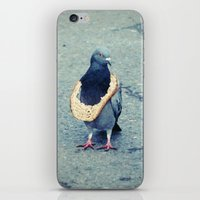 hiphop iPhone & iPod Skins featuring HipHop Dove Wait by Sigurdfisk