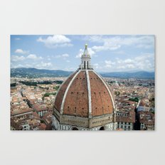 florence cathedral, italy. Canvas Print