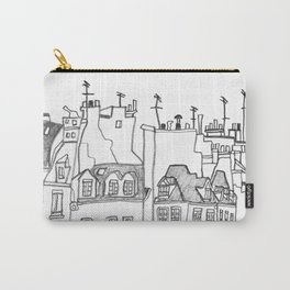 Paris Near Cathedral Notre-Dame Carry-All Pouch