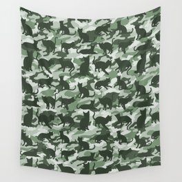 US Forces Catmouflage Stealth Camo Wall Tapestry