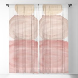Pebbles Me Up Sheer Curtain