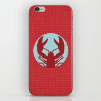 lobster iPhone & iPod Skins featuring Lobster by Mr and Mrs Quirynen