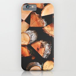Timber butts iPhone Case