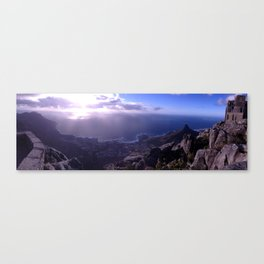 Top of Table Mountain Canvas Print