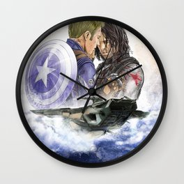 I'm With You Till The End of The Line Wall Clock