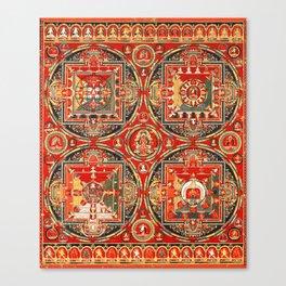 Mandala Buddhist 3 Canvas Print