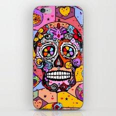 Los muertos Popart by Nico Bielow iPhone Skin